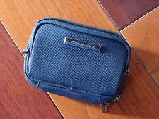 Sony Cybershot Universal Digital Camera Case Black Zippered W/ Pocket