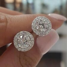 925 Silver,Gold Stud Earrings for Women Fashion Jewelry Free Shipping A Pair/set