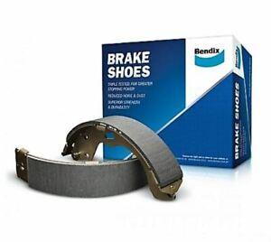 Bendix BS1791 REAR Brake Shoe Set (4 Pieces) FITS MAZDA 626 FITS TELSTAR