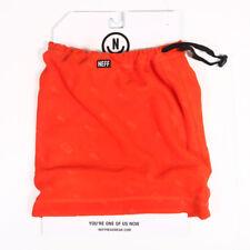 1dc12a624ea Neff Men s Shield Gaiter One Size Orange Headwear