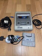 Super Nintendo SNES Konsole + Super Mario World und super Game Boy