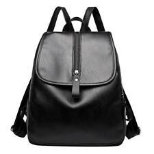 Women Lady Leather Backpack Travel Shoulder School Bag Satchel Rucksack Handbag