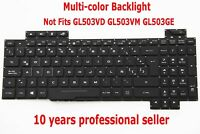 Teclado para Asus Strix GL503VS Not Fits GL503VD GL503VM GL503GE Latino Keyboard
