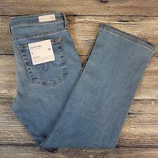 AG Adriano Goldschmied Women's Size 30 The Jodi Crop Denim Jeans Raw Release Hem