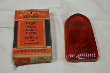 Lynx Eye T-336 - 1949 Chevrolet - Stop/Tail Light Lens - Right or Left - NOS