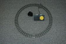 16 Lego 9V Eisenbahn TRAIN 4520 Schienen Kreis mit Trafo CURVED TRACKS
