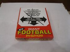 1980 Topps Football Giant Unopened Box 48 Photos Walter Payton Bradshaw Stabler