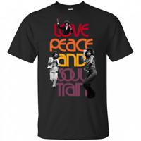 Soul Boogie love peace and soul train T-Shirt