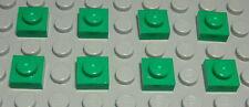 Lego Platte 1x1 Grün 8 Stück                                              (2059)