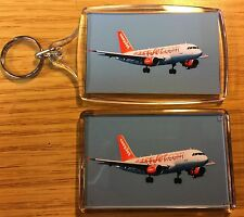 EASYJET Photo Key Ring & Fridge Magnet Set Aircraft Passenger Jet
