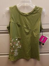 Sombrio Treetop Women's Sleeveless Jersey Tank Top Pink/Grey  Size Large