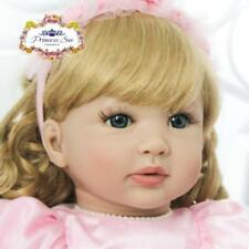 22'' Reborn Toddler Baby Handmade Soft Vinyl Girl Newborn Realistic Lifelike hot