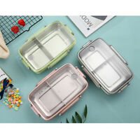 Multilayer Stainless Steel Insulation Lunch Bento Case Box Food Container Holder