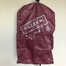Barron Gentlemen Garment Bag Atlantic City Donald Trump Taj Mahal Harrah's Hotel