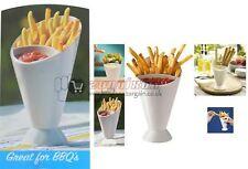 Nuevo sabroso Cono Con Salsa Dippers francés freír cesta de comida rápida Chip partes Barbacoa