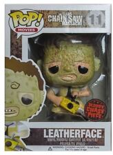 FUNKO POP TEXAS CHAIN SAW MASSACRE LEATHERFACE #11 CHASE Free Case IN STOCK