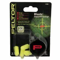 Neon Yellow #97082 3M Peltor Sport Blasts Disposable Earplugs 80-Pair Pk