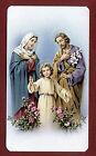 SANTINO SACRA FAMIGLIA IMAGE PIEUSE - HOLY CARD SANTINI