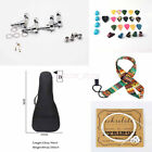 Black Portable Thicken Ukulele Bag Waterproof Storage Case Musical Accessories