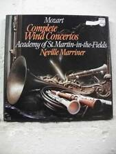 6707 020 MOZART Complete Wind Concertos ASMF NEVILLE MARRINER PHILIPS 4LP BOXSET