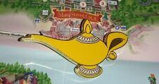 Pin Disney Paris DLP Cast Member Refresh Lanyard Aladdin Jasmine Genie Lamp