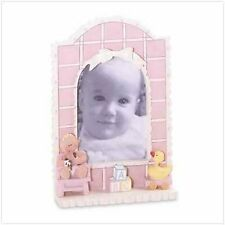 Baby Girl Quilt Photo Frame - Style 36291