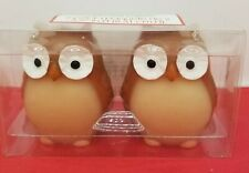 Iconic Owl Candles 2Pack  Holiday Time