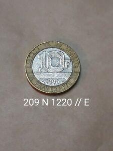 10 francs Génie de la Bastille 1990  ( 209 H 1220E )
