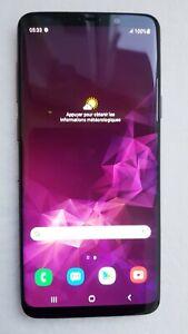 Samsung Galaxy S9 Plus Duos G965F Double Sim 128Go DD 6 Go RAM Violet Débloqué