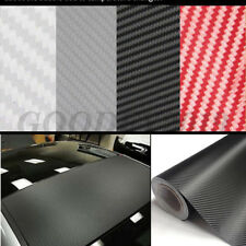 3D 4D 5D 6D Carbon Fiber Vinyl Car Auto Wrap Sheet Roll Film Sticker Decal HOT