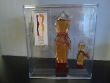 POUR UNE FEMME DE CARON  SET 1.7 oz EDP SPRAY AND 5 ML - 0.16 OZ MINIATURE