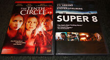 THE TENTH CIRCLE & SUPER 8-2 movies-RON ELDARD, BRITT ROBERTSON, ELLE FANNING