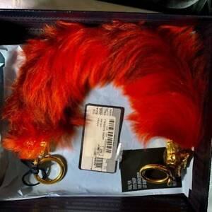 $1050 2017-2018 Prada fur shearling runway purse handle, w/cards/box,   $1050.00