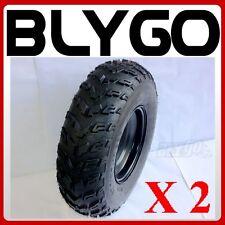 "2X 21X7- 10"" inch Front Wheel Rim+ Tyre Tire 200c 250cc Quad Dirt Bike ATV Buggy"