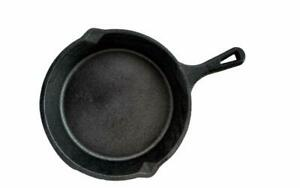 Non Stick Skillet Cast Iron Cookware Omelet Egg Pan Cake Frying Pan (20cm) Black