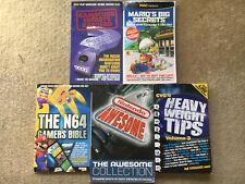 N64 Cheats walkthrough and secrets books