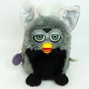 Furby interactive toy Grey Vintage 1999 1990s