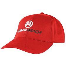 Ubbab37-01rd Urban Beach Snap Back Corporate Taglia Unica Rosso Da Uomo Cappellino MRP £ 10