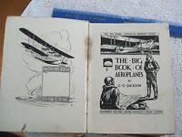 *RARE* 1st Ed.1928. THE BIG BOOK OF AEROPLANES By G.G.Jackson (Ox Uni Press.H/B)