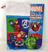 Marvel Superheroes My Storybook Stocking 6 Storybooks Inside - Iron Man - NEW