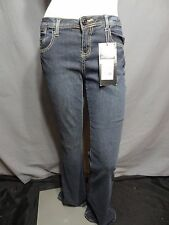 LL Cool J low rise blue flare junior jeans size 9.