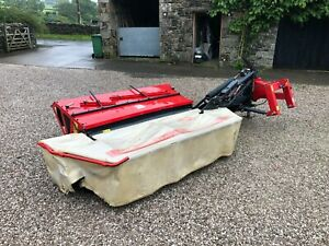 #B1295 Vicon DMP 2401 TC mounted mower conditioner. Tidy. 8 foot cut. Delivery.