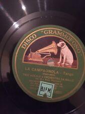 78 GIRI TRIO VOCALE canta LA CAMPAGNOLA & YO-YO CRISI