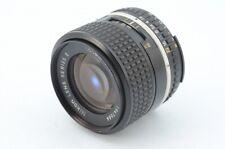 Nikon LENS SERIES E Ai-S 100mm f/2.8 Very Good Condition #1809