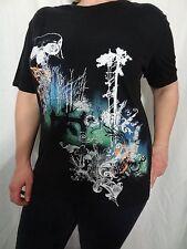 Marc Ecko Black Graphic T-Shirt 100% Size Men's Large