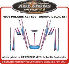 1996 POLARIS XLT TOURING 600  DECAL KIT INDY INCLUDES TONNEAU shroud  graphic