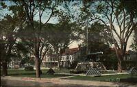 Stamford CT West Park c1910 Postcard