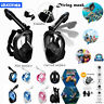 180° view Anti-Fog Snorkel Mask foldable Full Face Diving Mask For Water sports