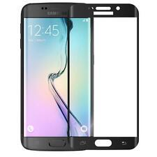 Samsung Galaxy S6 Edge 3D Curve BLACK Panzerfolie Panzerglas Full Cover SCHWARZ