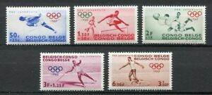 29740) Family Congo 1960 MNH New Olympic Games 5v